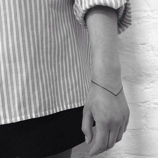 Tatouage poignet bracelet