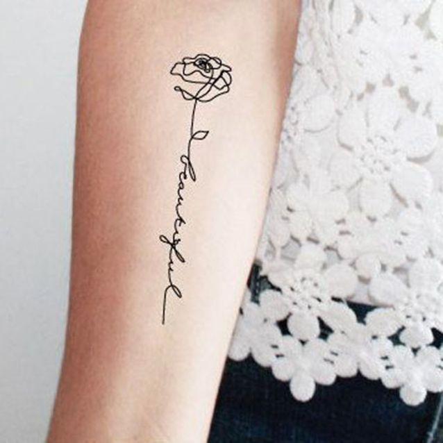 Tribal Tattoos X Tattoo Cuisse Femme Phrase