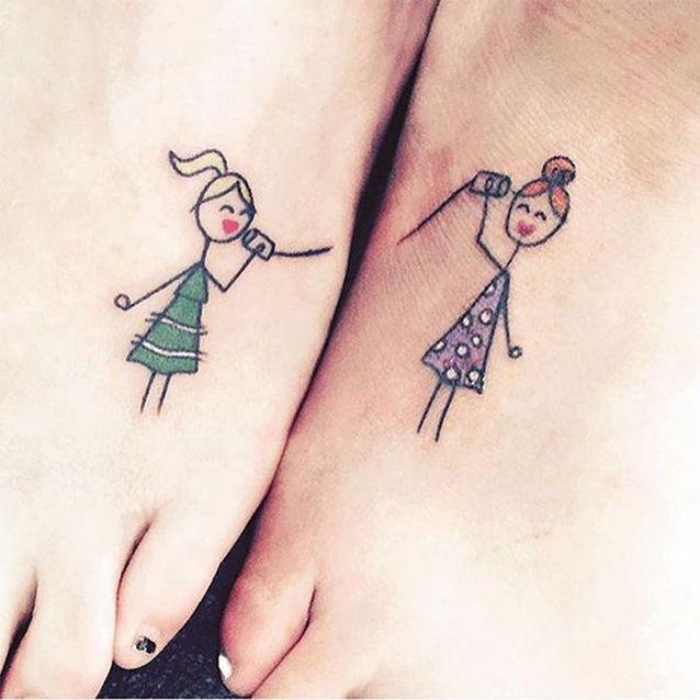 Tatouage de soeurs