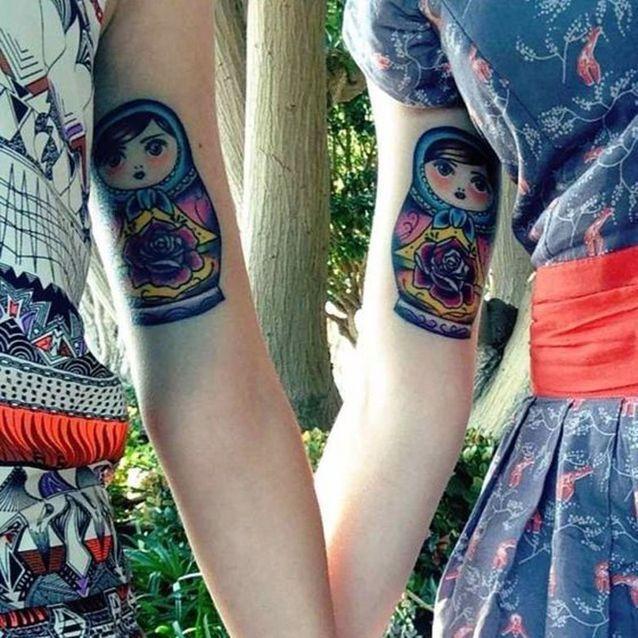 Tatouage entre soeurs