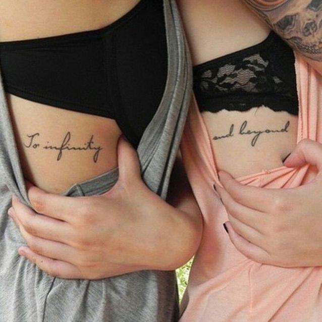 Tatouage Phrases Soeurs 15 Idées De Tatouages à Faire Entre Sœurs