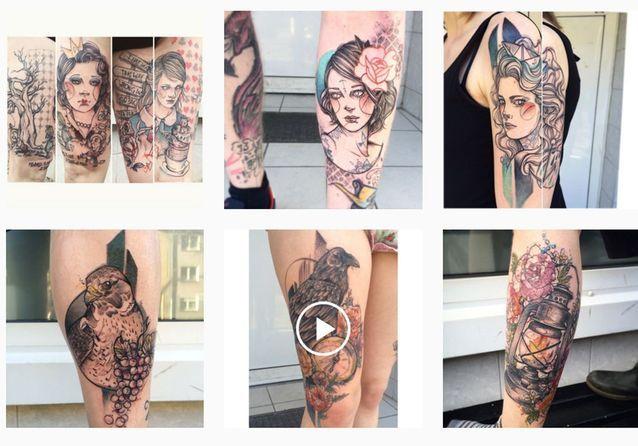 @_ankimichler : le tatoueur de visage