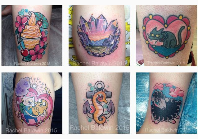 @rachelbaldwintattoo  le tatoueur kawaii