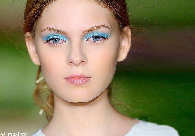 Tendance : l'oeil turquoise