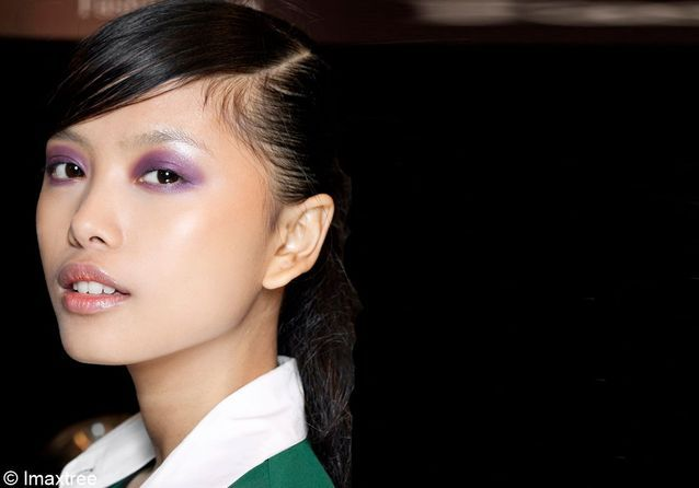 Tendance make-up : le violet