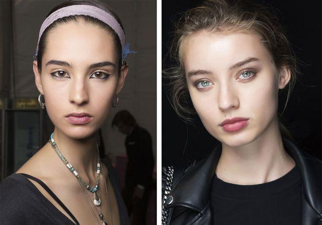 Maquillage printemps-été : les tendances repérées pendant les Fashion Weeks