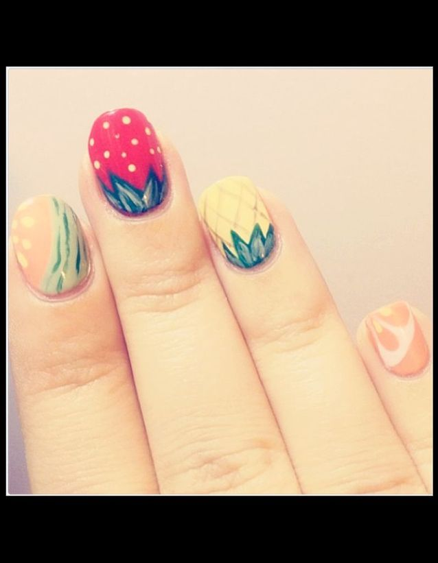 Ongles fruits