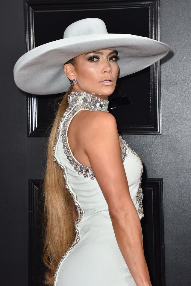 Jennifer Lopez et sa maxi queue-de-cheval