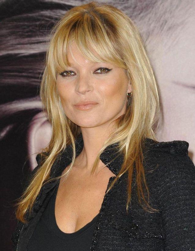La frange de Kate Moss en 2010