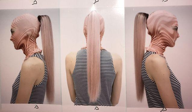 Les cheveux mutants du défilé automne-hiver 2019-2020 de Marine Serre