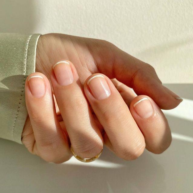 Manucure mariage french légère