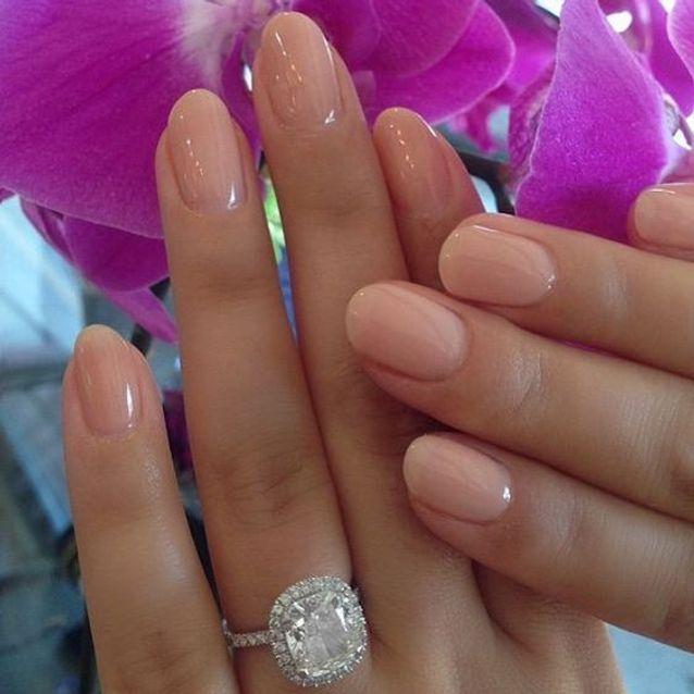 Manucure mariage gel