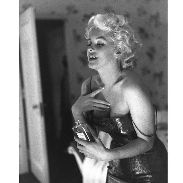 Cette photo de Marilyn Monroe datant de 1955 a servi de campagne publicitaire en 2013