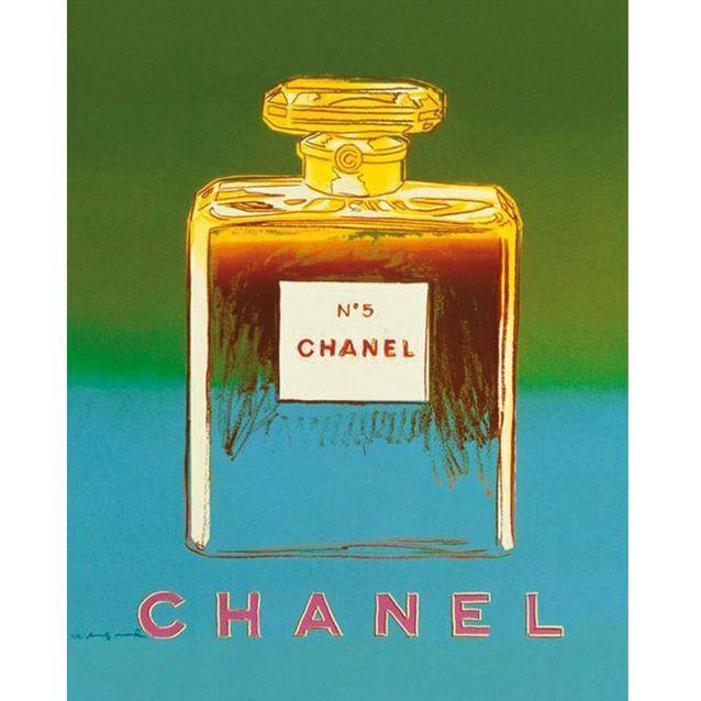 Chanel N°5 inspiré par les créations d'Andy Warhol, en 1997