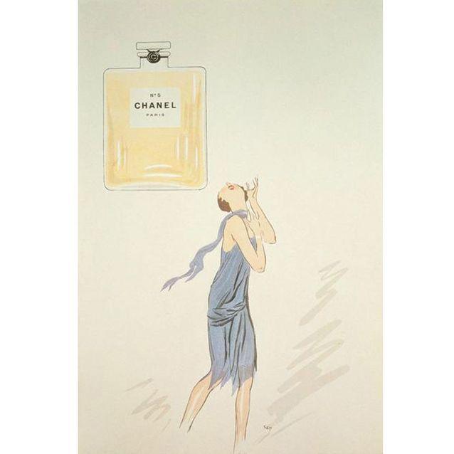 Chanel N°5 par le dessinateur Sem en 1921
