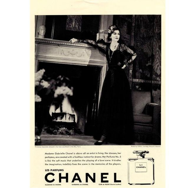 Chanel N°5 par Mademoiselle Coco en 1937