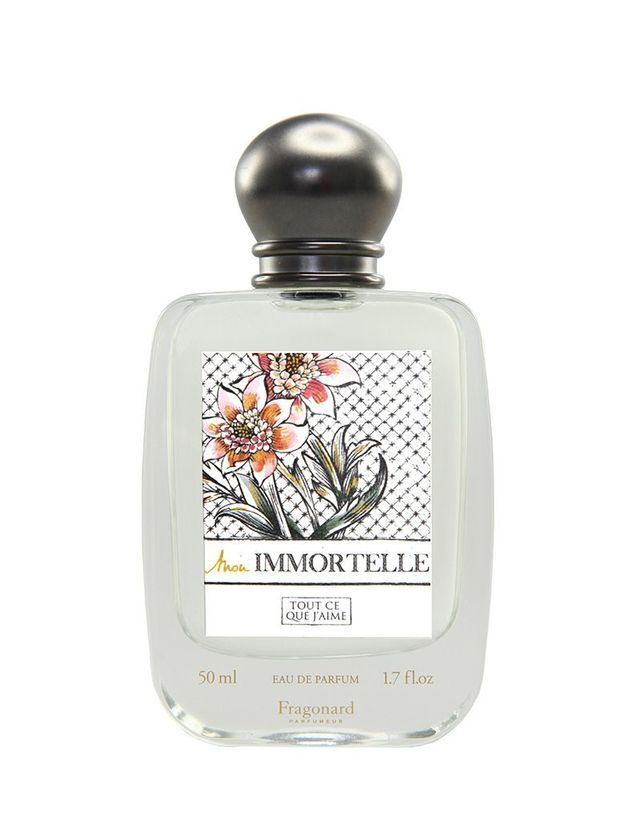 Mon immortelle, Fragonard, 50 ml, 40€