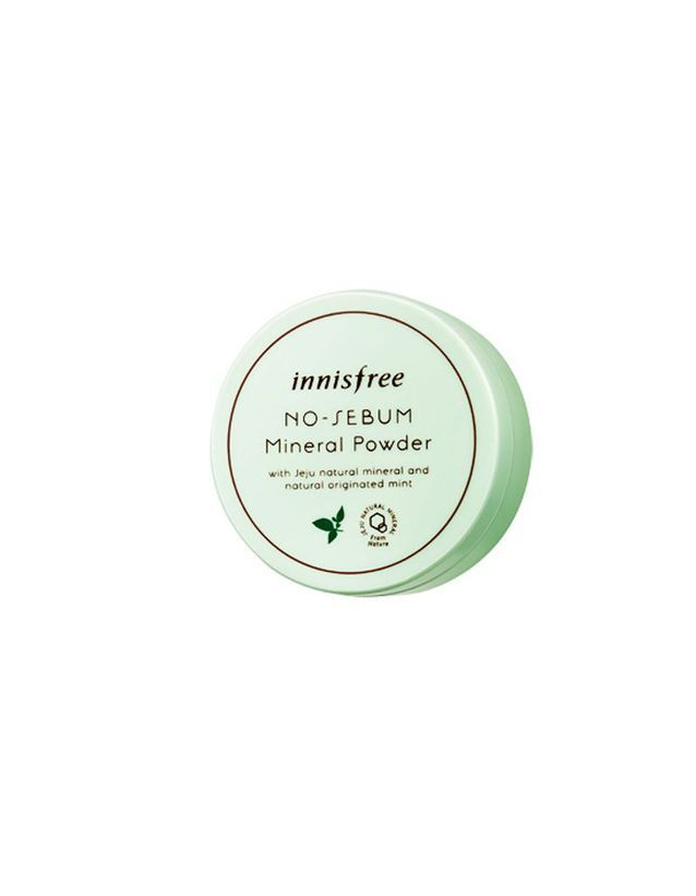 No sebum mineral powder, Innisfreen environ 12 €