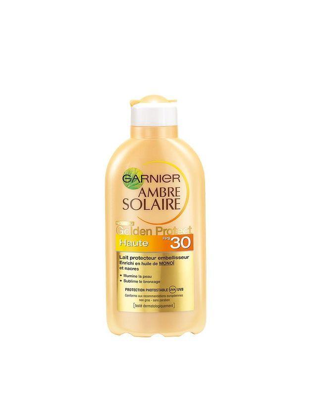Crème Garnier  Golden Protect 30 Ambre Solaire