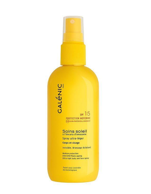 Crème solaire pour le visage SPF 15, Galénic