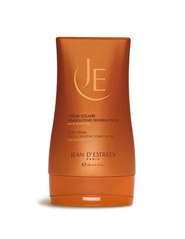 Crème solaire visage et zones sensibles J'ean d'Estrées