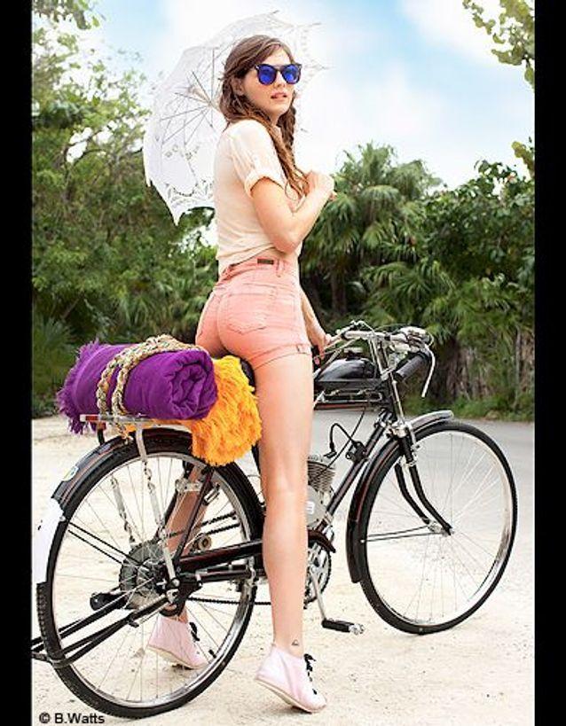 Brûler les calories à vélo