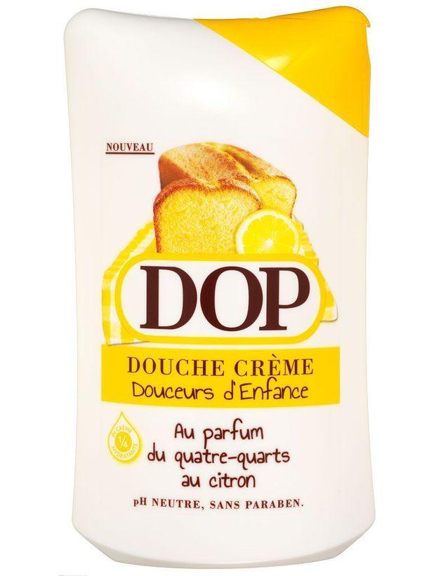 Douche crème au Parfum du Quatre-Quarts au citron, Dop, 250 ml, 2,10 €