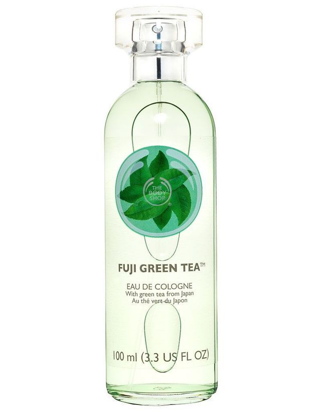 Eau de Cologne Fuji Green tea, The Body Shop, 100 ml, 17 €