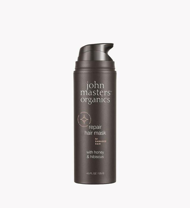 Masque Réparateur Cheveux, Miel & Hibiscus, John Masters Organics