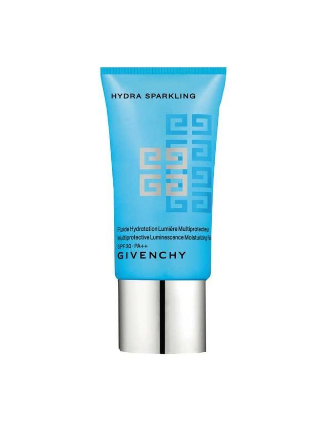 Fluide mutliprotecteur SPF 30, Hydra Sparkling, Givenchy, 42,30 €