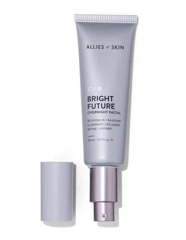 Bright Future Overnight Facial, Allies of Skin, 135€