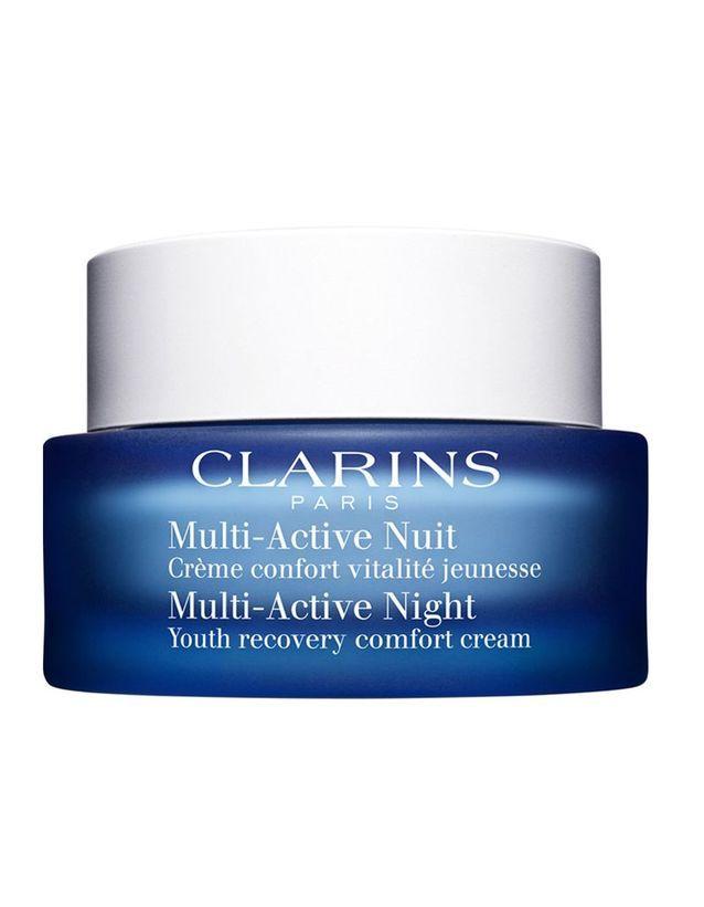 Multi Active Nuit Légère crème de nuit, Clarins, 69€