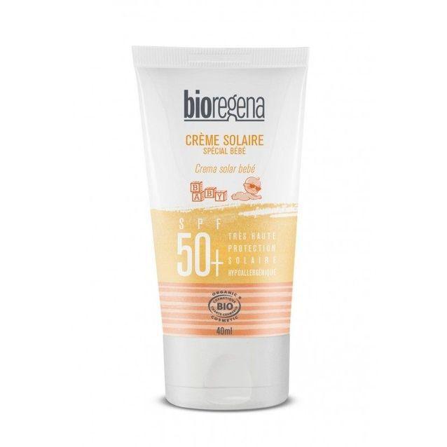 Crème solaire bio bébé SPF 50  , Bioregena