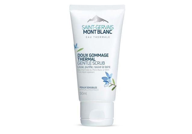 Gommage visage Saint-Gervais Mont Blanc