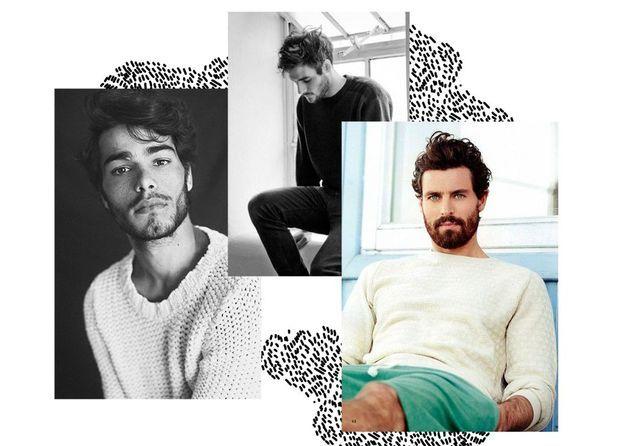 20 beaux gosses à barbe repérés sur Pinterest
