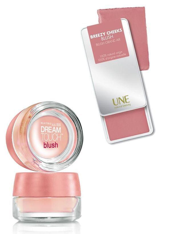 Le blush s'applique en crème
