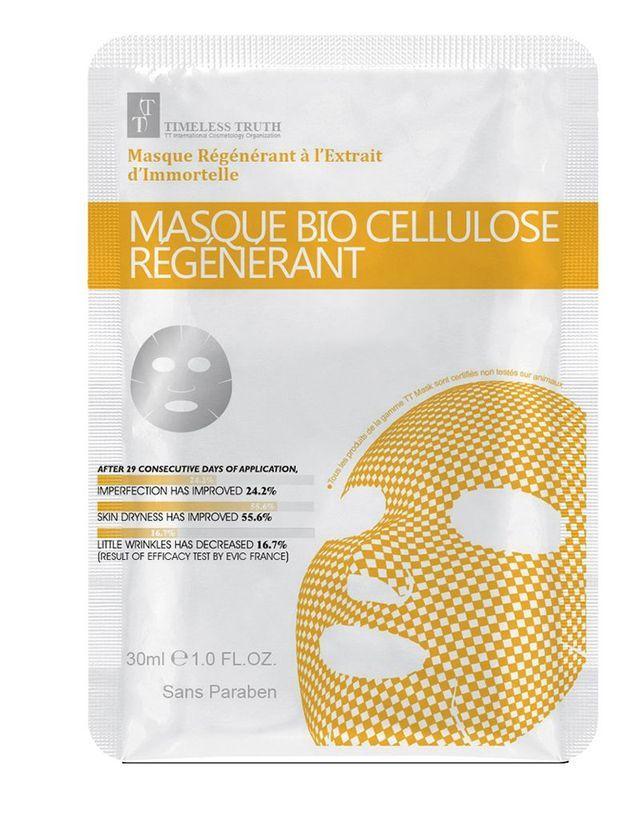 Masque Bio-Cellulose Régénérant, TT Mask, 8,40€ en exclu chez Parashop