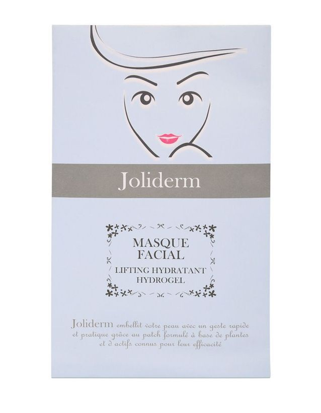 Masque facial Lifting Hydratant Hydrogel, Joliderm, 11,90€ le masque