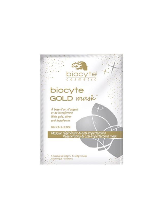 Masque régénérant et anti-imperfections, Biocyte GOLD mask, Biocyte, 12€ le masque