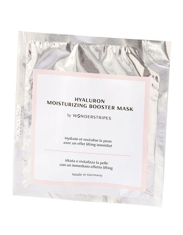 Masque réhydratant intense à l'acide hyaluronique, Wonderstripes, 14,90€ le masque chez The Beautyst
