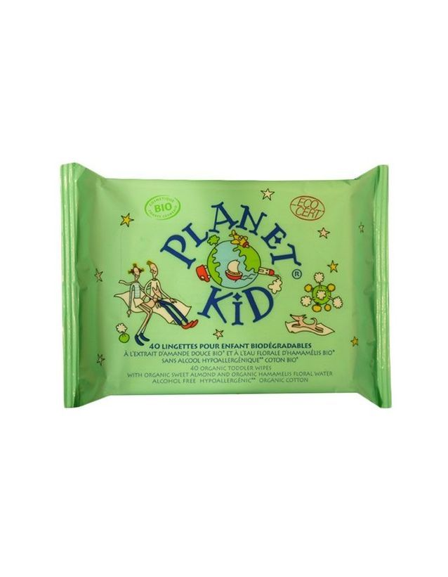 Lingette biodégradables, Planète Kid, 3,69 €