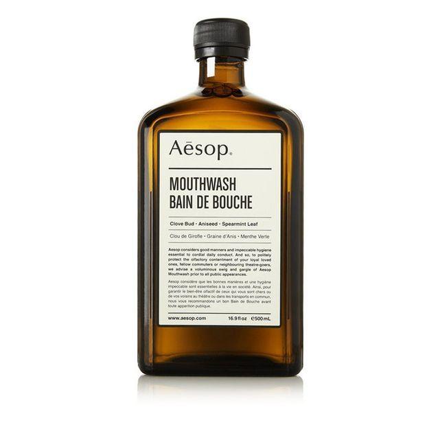 Bain de bouche, Aesop