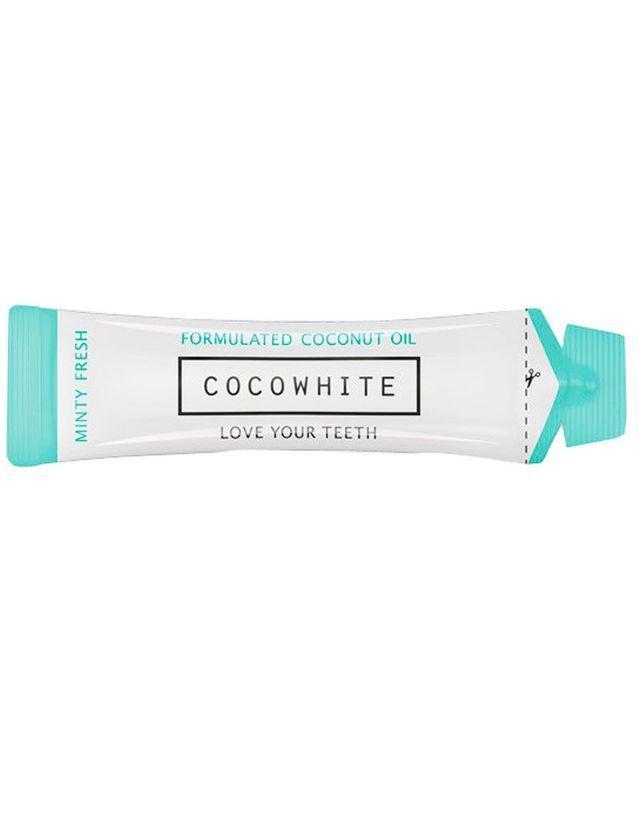 Bain de bouche pour blanchir les dents, CocoWhite, 27€ les 14 berlingots