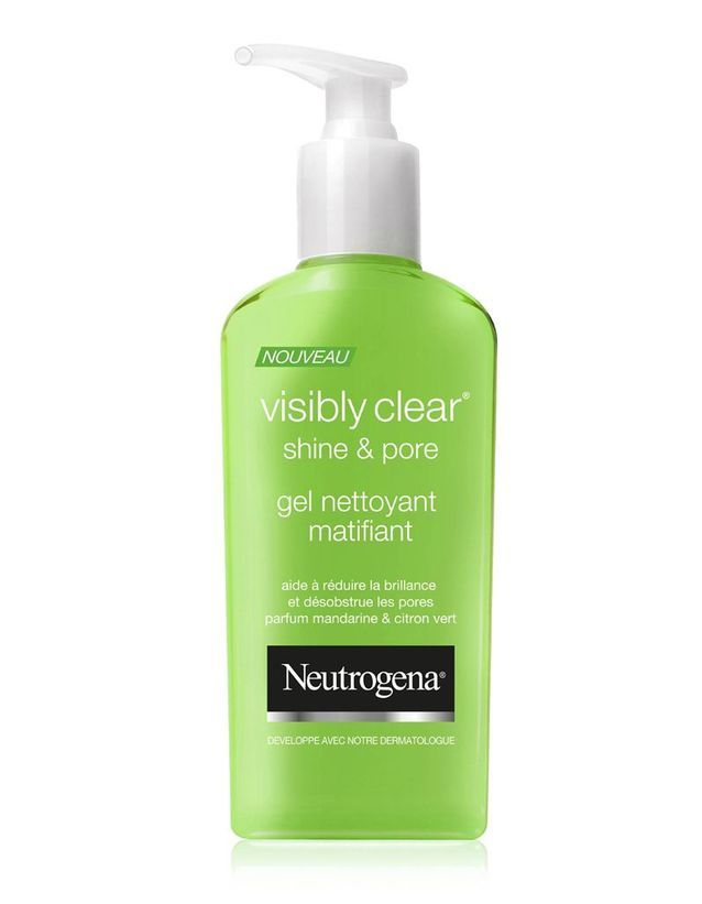 Gel nettoyant matifiant Visibly Clear Shine&Pore, Neutrogena