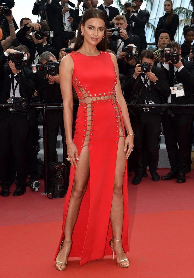 Irina Shayk en Versace