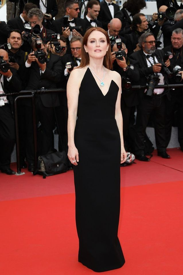 Julianne Moore en Saint Laurent