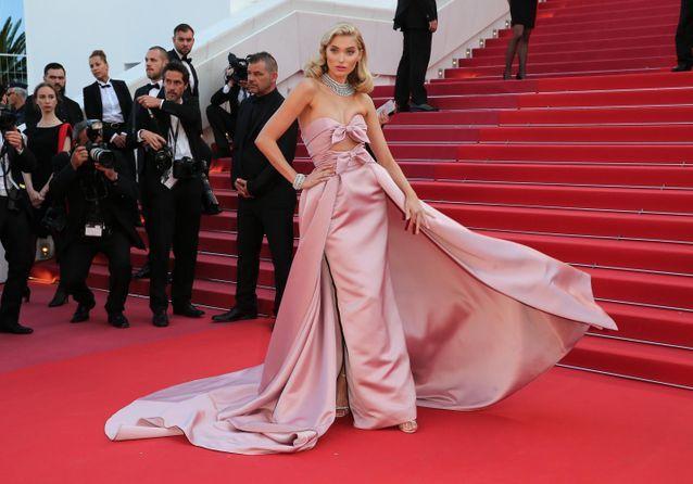 Cannes 2018   les plus belles robes roses du tapis rouge - Elle a8ab643a0d1