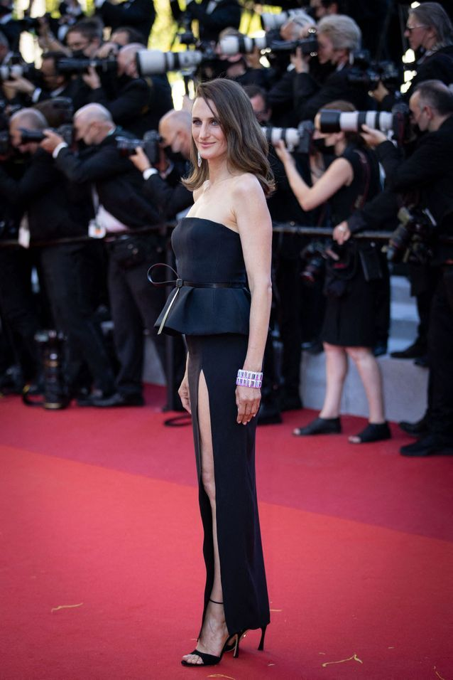 Camille Cottin en robe Dior