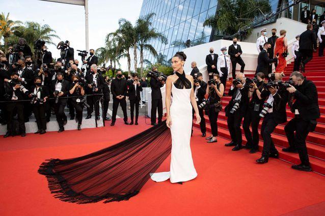 Bella Hadid et sa robe Haute Couture
