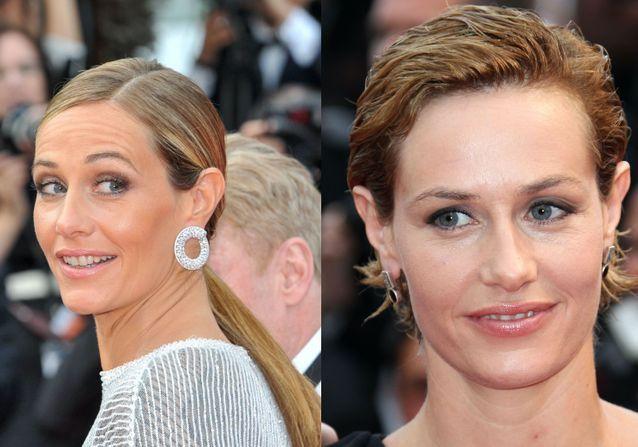 L'évolution coiffure de Cécile de France à Cannes